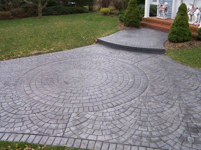 Stamped Concrete For Your Driveway